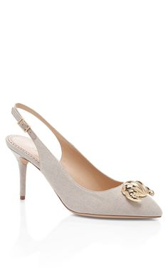 Shop Desi Croissant by Charlotte Olympia Now Available on Moda Operandi