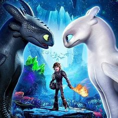 A Cropped Version of the First Official HTTYD 3 Poster by Dreamworks. How To Train Your Dragon: The Hidden World Toothless Dragon, Hiccup And Toothless, Toothless Party, Httyd 3, Cartoon Cartoon, How To Train Dragon, How To Train Your, Toothless Wallpaper, Dragons