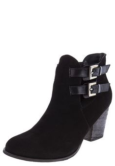 Botines Stivali Terry Gamuza - Negro Stivali