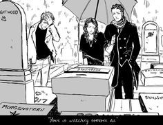 There are always downsides to everything ... even to being immortal ...  Drawn by the talented Cassandra Jean ...  magnus bane, simon lewis, the mortal instruments, theresa 'tessa' gray