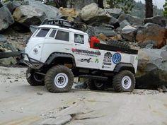 Dakar Type 2 VW transporter Doka