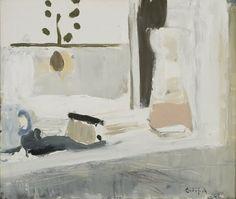 Eilif Amundsen - Stilleben vindu olje på lerret, 51 x 61 cm Art And Illustration, Klimt, Meaningful Paintings, Galerie D'art, Classic Paintings, Palette, Art Techniques, Painting Inspiration, New Art
