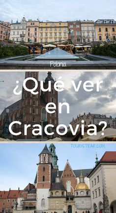 ¿Qué ver en Cracovia? que visitas son imprescindibles en el centro de la ciudad? Cuántos días necesito para conocer Cracovia?  #Cracovia #Polonia Cities, Before I Die, Travel Tips, Travel Ideas, Beautiful World, Wanderlust, Europe, Places, Travelling