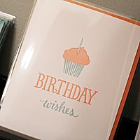 The Windmill presents greeting cards from Sugar Paper. Featuring bold letterpress, colored envelopes, and fresh design.