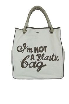 Most Iconic It Bags: Anya Hindmarch 'I am not a plastic bag'