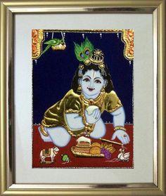 Krishna 1d - 11x9 in