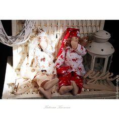 Купить Сплюшкины сладких снов. Текстильные куклы. - разноцветный, кукла ручной работы, кукла