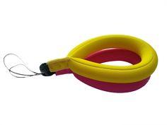Waterproof Camera Float Strap WAPAG Universal Floating Wristband Buoyancy Belt for GoPro/Panasonic/Nikon COOLPIX/Canon PowerShot/Fujifilm FinePix/Waterproof Bag/Cell Phone - 2 Pack Yellow Pink