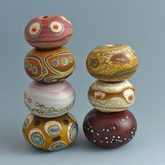 mar 23 red clay set of 7 1 | by wandering spirit designs