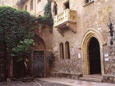 Casa  di  Giulietta - romeo and juliet