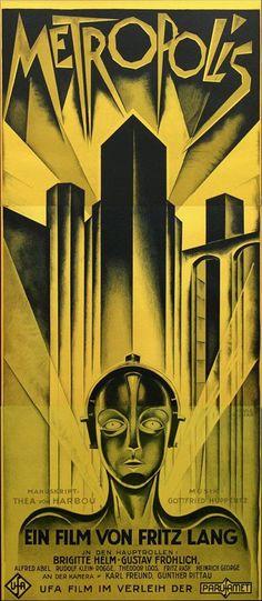 "Heinz Schulz-Neudamm Poster for Fritz Lang's ""Metropolis,"" Berlin 1927"