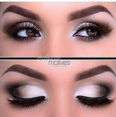 Brown eyed makeup