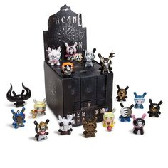 Arcane Divination Dunny Blind Box Series by Kidrobot