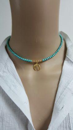 Seed Bead Jewelry, Cute Jewelry, Boho Jewelry, Jewelry Crafts, Beaded Jewelry, Jewelery, Jewelry Accessories, Jewelry Necklaces, Fashion Jewelry