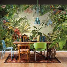 jungle mural - Google Search