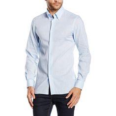 Versace 19.69 Abbigliamento Sportivo Srl Milano Italia Mens Fit Slim Button Down Neck Shirt SBD12