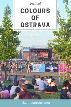 Musik-Festival in Ostrava Tschechien. #tschechien #ostrava #festival