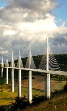 Viaduc de Millau, France,  by Jibstudios on 500px