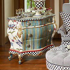 Funky furniture from MacKenzie-Childs