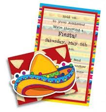 design invitations for mexican theme party - Google Search