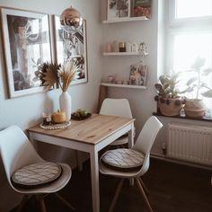 Small Apartment Interior, Apartment Design, Apartment Living, Home Decor Kitchen, Interior Design Kitchen, Küchen Design, House Design, Dining Room Design, Living Room Inspiration