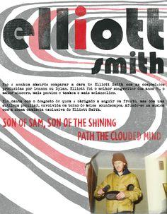 AFUNDE-SE NA MÚSICA COM NOSSA CAMISETA DO ELLIOTT SMITH - Reverbcity.com
