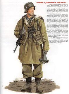 "SS Sharfuehrer, 1a Waffen SS Panzerdivision "" Leibstandarte Adolf Hitler"", Fronte Est 1943"