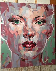 Jimmy Law expressive painter from Cape Town.