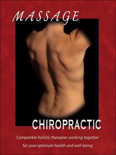 Chiropractic and Massage Poster
