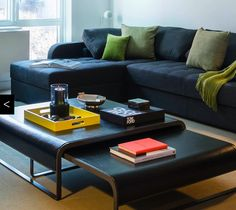 Elle coffee tables seen in Jennifer Post project available at propertyfurniture.com