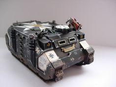 Black Templars Rhino 2   Flickr - Photo Sharing!