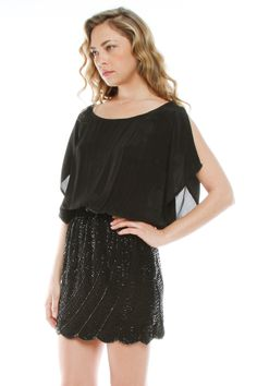 Sequin Bottom Dress- one day...