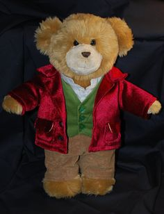 Bilbo Baggins teddy bear. The Hobbit.
