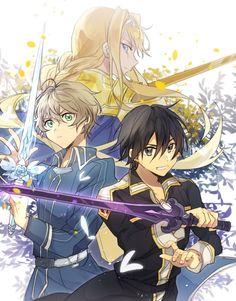 Eugeo Sword Art Online, Sword Art Online Wallpaper, Alice, Kirito Asuna, Familia Anime, Cartoon Tv Shows, Custom Gundam, Cultura Pop, Manga Drawing