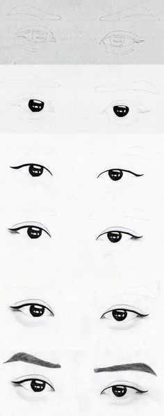 Step by step: EXO Chanyeol eyes by hunniecreeper on deviantART