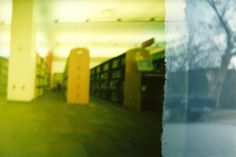 the inside, and outside, of the library