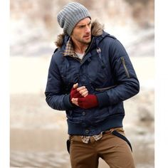 A wonderful ensemble. #mensfashion Tips for you ladies to give your stylish man
