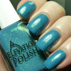 Elevation Polish: The Sea Collection - Swatches and Review | Pointless Cafe THE MED 2