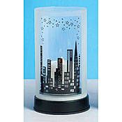 The City Skyline Centerpiece features a city skyline with star accents. Each of the 9 inch high city themed centerpieces has a 5 inch diameter glass cylinder that sits on a plastic base. Sweet 16 Parties, Grad Parties, Themed Parties, New York Theme Party, Prom Decor, Movie Night Party, Empire State Of Mind, My Super Sweet 16, 50th Birthday Party