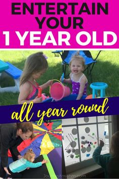Awesome one year old activities and crafts. These play ideas will help learn motor skills to get you Sensory Activities, Infant Activities, Educational Activities, Learning Activities, Toddler Fun, Toddler Crafts, Toddler Learning, Kids Crafts, Activities For One Year Olds