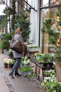 Store front. I Rosens Navn, Denmark | Just in time for Christmas