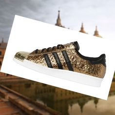 9d487637e10e Zapatos de Mujer Hombre Adidas Superstar 80s Metal dorado Negro 6Euaf  Distribuidor en L nea
