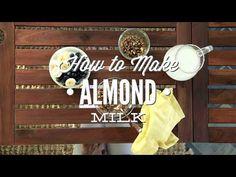 How to Make Almond Milk - Live Simply