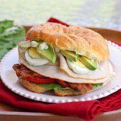Cobb Salad Sandwich #cobb #sandwich