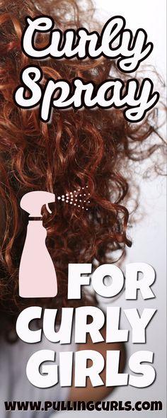 Curly Hair Spray, Curly Hair Tips, Curly Hair Care, Oil For Curly Hair, Curly Hair Braids, Hair Updo, Wavy Hair, Curly Hair Styles, Natural Hair Styles