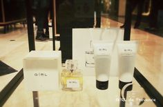 GiRL de perfumed, lotion and shower gel from 10 corso como.