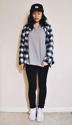 Vans Sk8 Hi Outfit