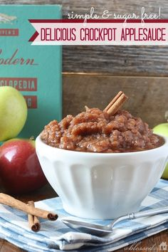 Easy Crockpot Applesauce Recipe - made it last night.  It was delicious!  You could cut back on the spice but it tasted just like apple pie without the crust!