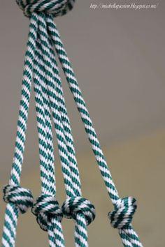 DIY Chunky Rope Pot Plant Hanger...