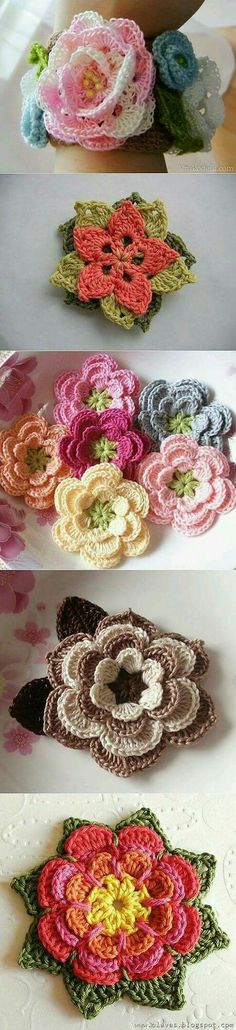 Flores de ganchillo Find and save knitting and crochet schemas simple recipes and other ideas collected with love Crochet Hearts Flower Crochet Crocheted Flower Cat Cave Crochet Pattern, Crochet Mat, Crochet For Boys, Freeform Crochet, Crochet Books, Thread Crochet, Cute Crochet, Irish Crochet, Beautiful Crochet